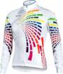 Bluza rowerowa męska Vezuvio Rainbow