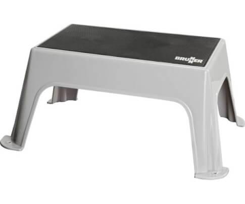 Stopień wejściowy Hopper Antislip firmy Brunner do 150 kg szaro czarny