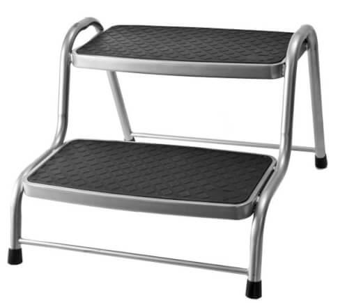 Podwójny schodek metalowy King Double Step XL firmy Brunner do 150kg