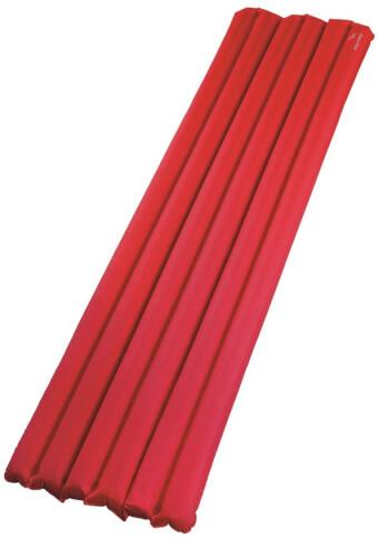 Materac z wbudowaną pompką Easy Camp Hexa Mat Red