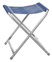 Rozkładany stołek z wodoodpornym materiałem Kerry Stool Brunner niebieski