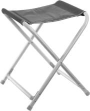 Rozkładany stołek Kerry Stool Shadow firmy Brunner czarno szary