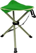 Stołek turystyczny, składany Triol firmy Brunner zielony