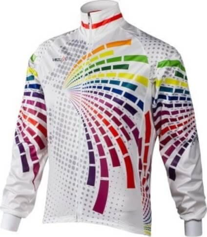 Kurtka rowerowa Vezuvio Rainbow z gamexu BCM Nowatex