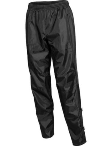 Długie spodnie ortalionowe czarne BCM Nowatex