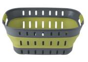 Składany koszyk Collaps Basket firmy Outwell zielony
