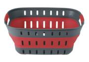 Składany koszyk Collaps Basket firmy Outwell czerwony