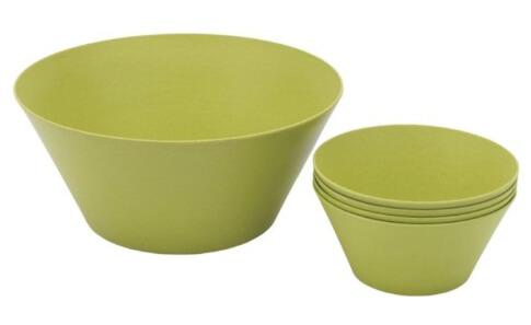 Turystyczny zestaw do serwowania sałatek Bamboo Salad Set firmy Outwell