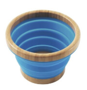 Składana miska z bambusa Collaps Bamboo Bowl L Outwell niebieska