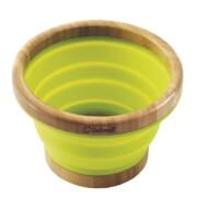Składana miska z bambusa Collaps Bamboo Bowl L Outwell zielona