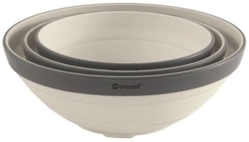 Zestaw misek składanych Collaps Bowl Set Outwell Cream White