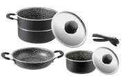 Zestaw kuchenny do gotowania na kempingu Pirate 6+1 fi 18  Brunner