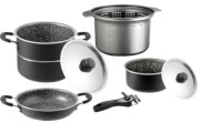 Zestaw kuchenny do gotowania na kempingu Pirate 7+1 fi 22 Brunner