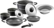 Zestaw kuchenny do gotowania na kempingu Pirate 9+1 fi 24  Brunner