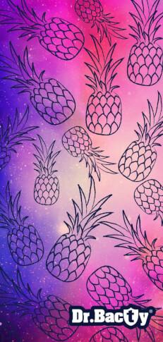 Antybakteryjny ręcznik szybkoschnący XL ananas Dr Bacty