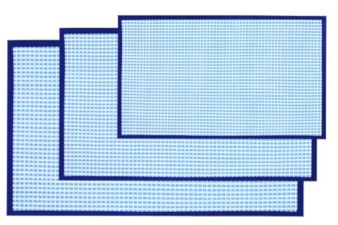 Antypoślizgowa wykładzina do przedsionka namiotu Kinetic Mat 51x86 cm Blue Grey Brunner