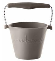 Składane wiaderko dla dzieci Scrunch Bucket Funkit World szary