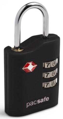Kłódka bagażowa z systemem TSA Pacsafe Prosafe 700 black