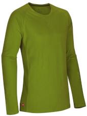 Lekka bawełniana bluza z długim rękawem Ocun Dio Long Sleeve Pond Green