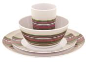 Zestaw obiadowy dla 4 osób Blossom Picnic Set Magnolia Red Outwell