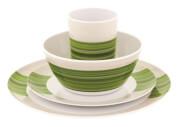 Zestaw obiadowy dla 2 osób Blossom Picnic Set Pogonia Green Outwell