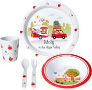 Zestaw obiadowy dla dzieci Molly Kids Girl 3+ Brunner