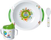 Zestaw obiadowy dla dzieci Around the World 6M+ Brunner