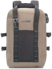 Plecak antykradzieżowy wodoodporny Pacsafe Dry 25l beżowy