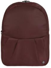 2w1 Torebka-Plecak antykradzieżowy Pacsafe Citysafe CX Convertible bordowy