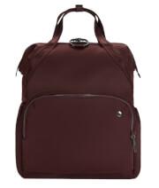 Plecak antykradzieżowy Pacsafe Citysafe CX 17L bordowy