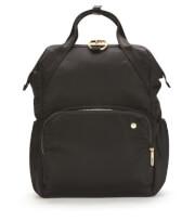 Plecak damski antykradzieżowy Pacsafe Citysafe CX 17L czarny