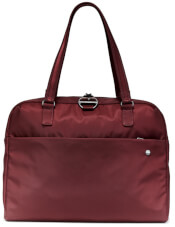 Torba damska antykradzieżowa Pacsafe Citysafe CX slim briefcase Merlot