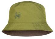 Dwustronny kapelusz wodoodporny Buff Travel Bucket Hat Shady Khaki