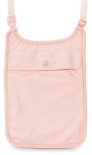 Pacsafe Coversafe S75 portfel na szyję różowy