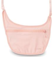 Portfel pod ubranie różowy Pacsafe Coversafe S80
