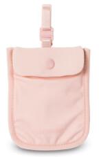 Damski sekretny portfel Pacsafe Coversafe S25 różowy