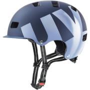 Kask rowerowy ze zdejmowanym daszkiem HLMT 5 pro Granatowy Mat Uvex