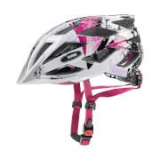 Kask rowerowy dla nastolatków Air Wing White Pink Uvex