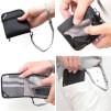 Portfel z ochroną przed kradzieżą Pacsafe RFIDsafe V100 Black