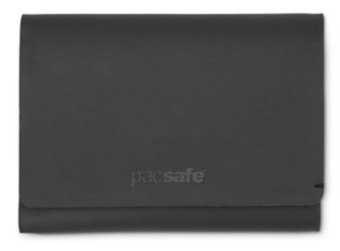 Portfel z ochroną przed kradzieżą Pacsafe RFIDsafe TEC Trifold Wallet czarny