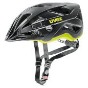 Zaawansowany kask rowerowy Active CC Black Yellow Mat Uvex