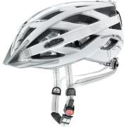 Kask rowerowy w zestawie z lampką LED City I-vo White Mat Uvex