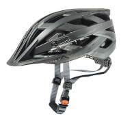 Praktyczny kask rowerowy I-vo cc Black Smoke Mat Uvex