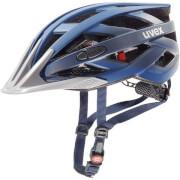 Praktyczny kask rowerowy I-vo cc Darkblue Metalic Uvex