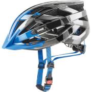 Kask do jazdy na rowerze lub rolkach I-vo c Dark Silver Blue Uvex