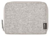 Portfel z miejscem na paszport Pacsafe RFIDsafe LX150 Tweed Grey