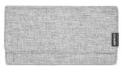 Portfel damski antykradzieżowy Pacsafe RFIDsafe LX200 Tweed Grey