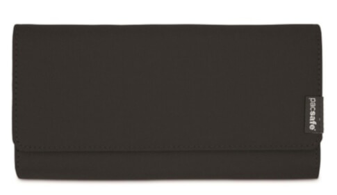Portfel damski antykradzieżowy Pacsafe RFIDsafe LX200 Black