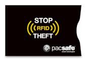 Etui chroniące karty zbliżeniowe Pacsafe RFIDsleeve 25 czarny 2sz
