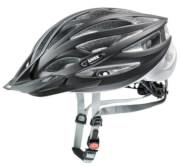 Kask rowerowy dla osób o dużym obwodzie głowy Oversize Black Mat Silver Uvex